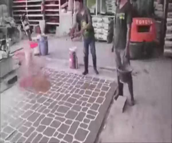 Декорирование бетона