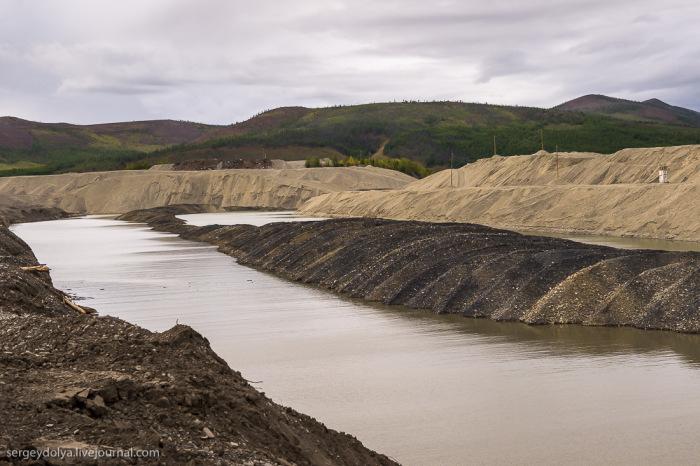 Способы добычи золота на Колыме (36 фото)