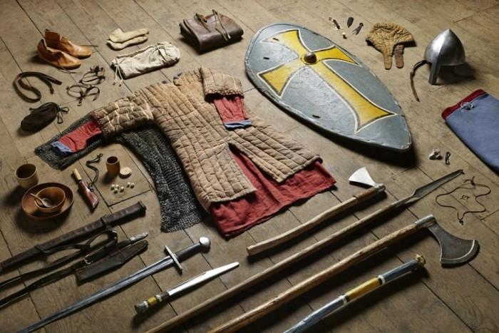 Как изменилась амуниция британских солдат за тысячу лет