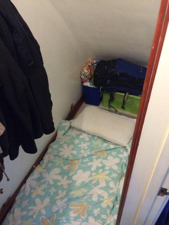 «Апартаменты» в Лондоне за 500 фунтов в месяц (3 фото)