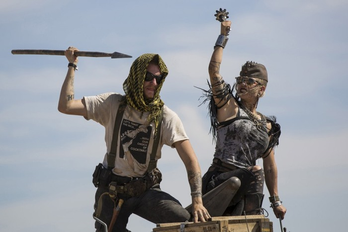 В США прошел постапокалиптический фестиваль Wasteland Weekend 2015 (26 фото)