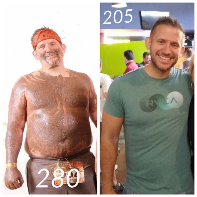 Люди, которые победили в борьбе с лишним весом (18 фото)