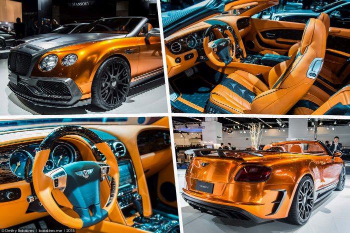 Роскошные автомобили немецкого тюнинг-ателье Mansory (18 фото)