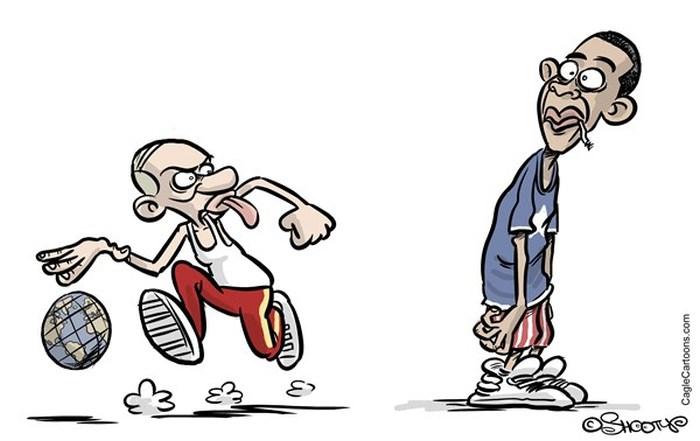 Политические карикатуры (40 картинок)
