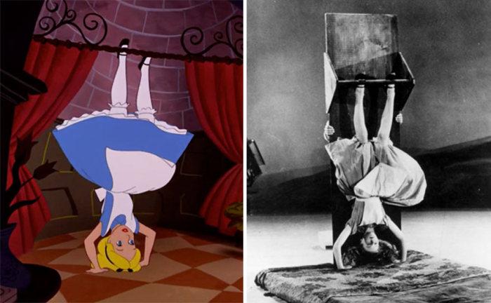 Технология классической анимации в студии Уолта Диснея, 1951 год (12 фото)