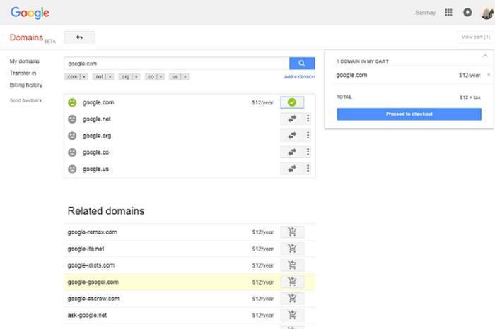 Парень случайно купил домен Google.com всего за 12 долларов (2 фото)