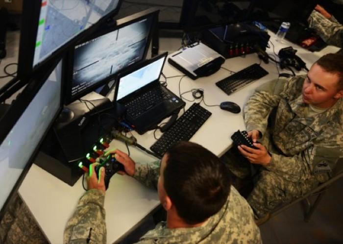 Американская армия тестирует турели для охраны военных объектов (2 фото)