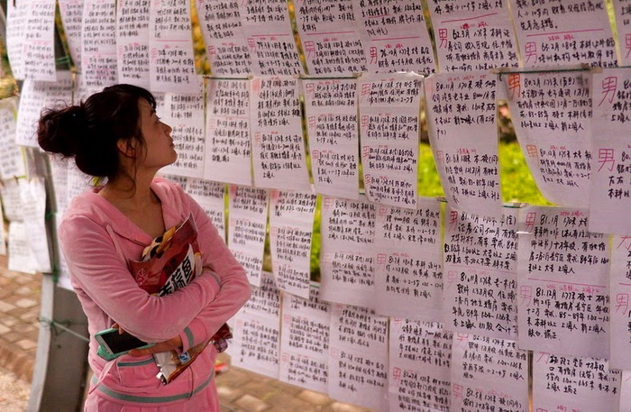 «Свадебный базар» Шанхая (6 фото)