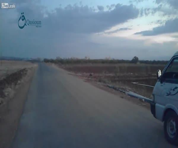 Очередной удар российских ВВС в Сирии