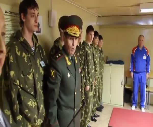 Мастер-класс в исполнении генерала