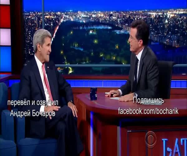 Американские шоу о событиях в Сирии