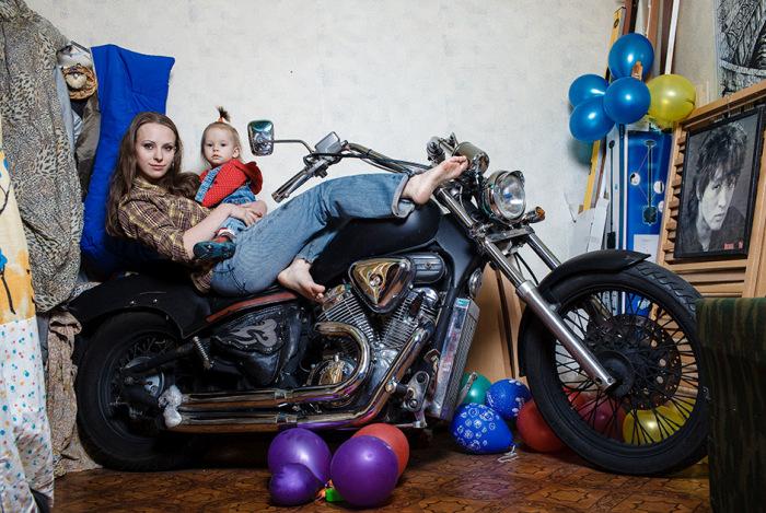 Зимовка мотоцикла в квартире (30 фото)