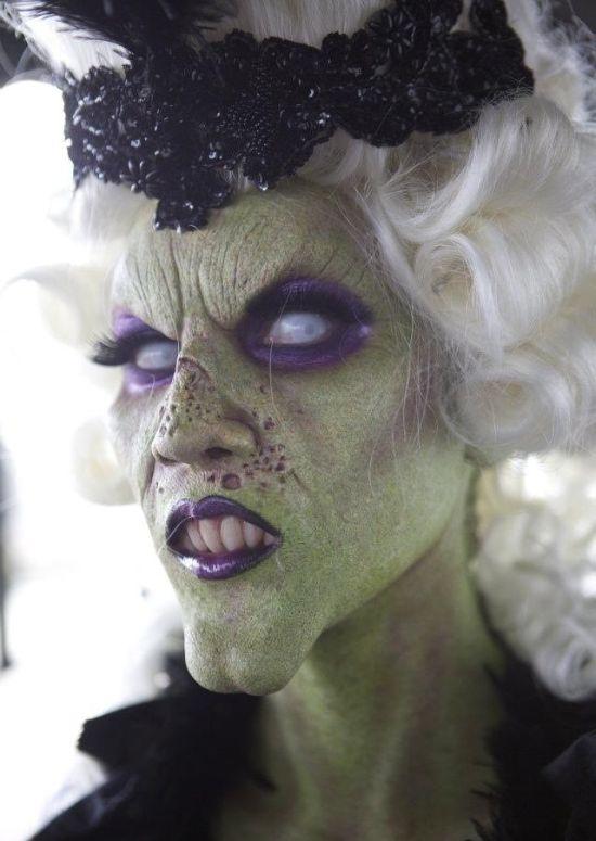 Жуткие образы для Хэллоуина (26 фото)