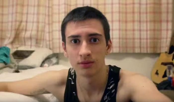 Трансгендер Джейми Рейнс запечатлел на фото свое 3-летнее превращение из девушки в парня (20 фото + видео)