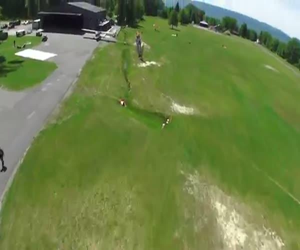 Неудачное приземление