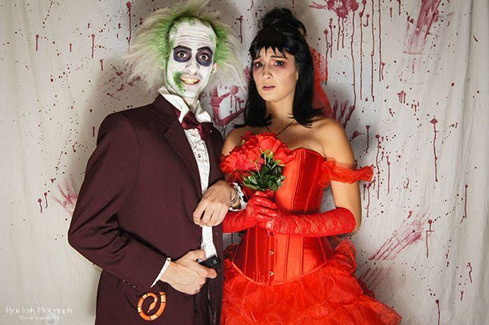 Прикольные костюмы и оригинальные образы на Хэллоуин(42 фото)