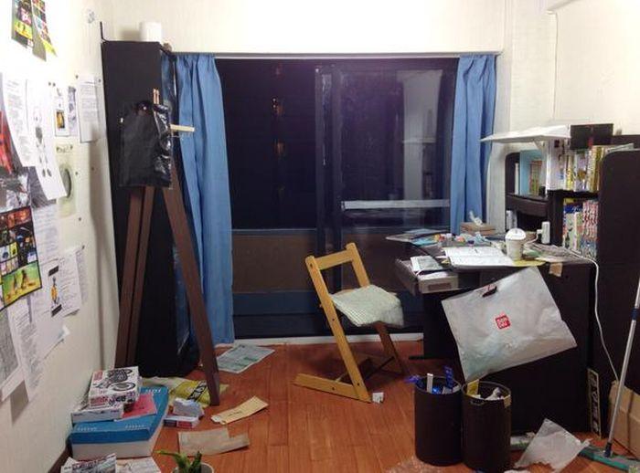 Не совсем обычная комната (2 фото)