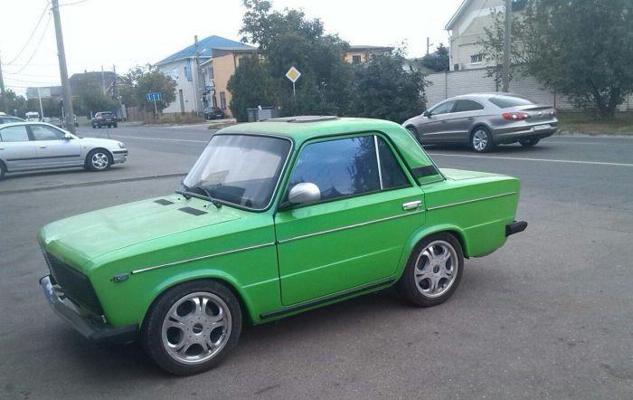 Уникальная «шестерка» из Краснодара (3 фото)