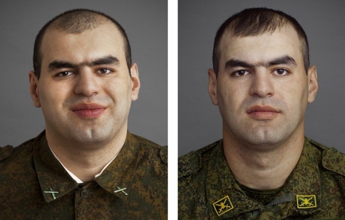 Фото военнослужащих российской армии в начале и конце службы (11 фото)