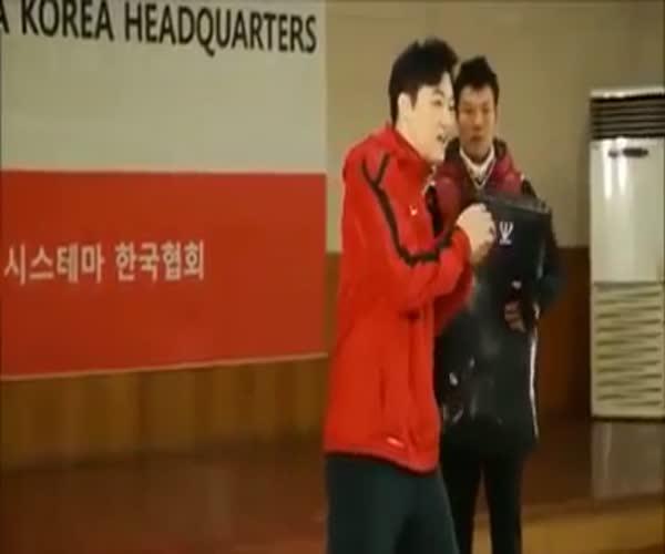 Демонстрация различных видов боевых искусств