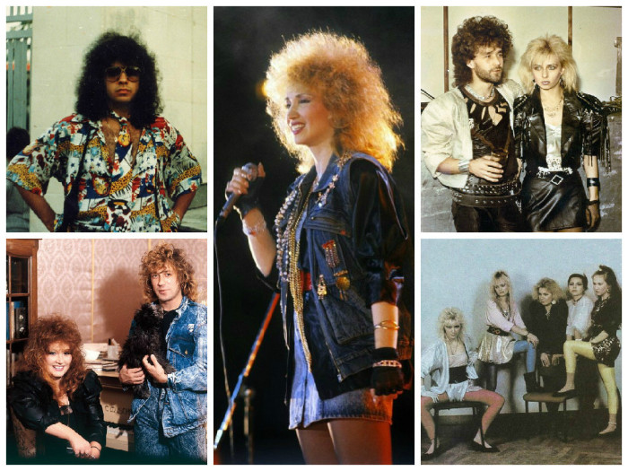 Сумасшедшие наряды звезд отечественной эстрады в 80-е и 90-е годы (32 фото)