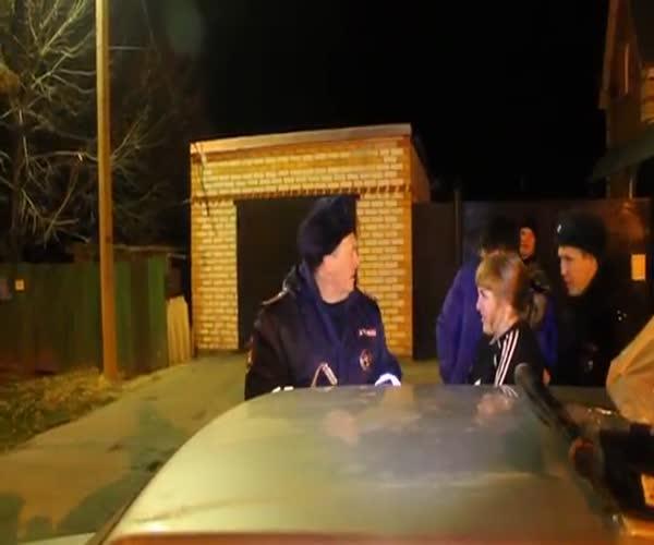Вопрос на засыпку от полицейского