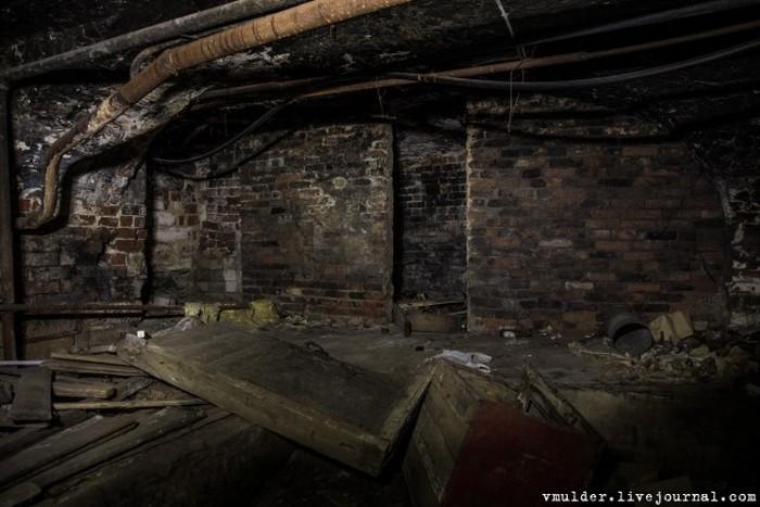 Заброшенная психиатрическая клиника в городе Касимов (25 фото)