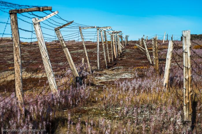Заброшенный трудовой лагерь системы ГУЛАГ для заключенных на Чукотке (34 фото)