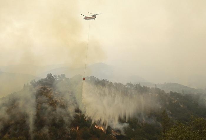 Лесные пожары в Калифорнии (13 фото)