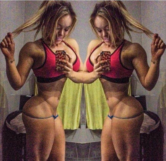 Австралийская фитнес-модель Мэгги Расселл и ее нереальные параметры (8 фото)