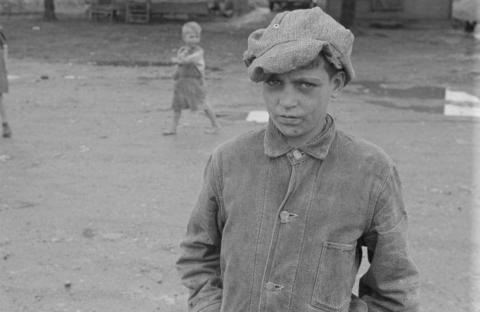 Нью-Йоркские трущобы во времена Великой депрессии (26 фото)