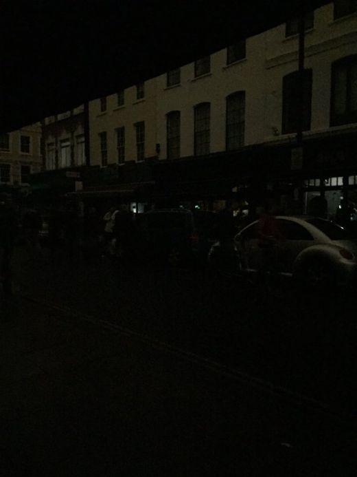 Центр Лондона на 2 часа остался без света (11 фото)