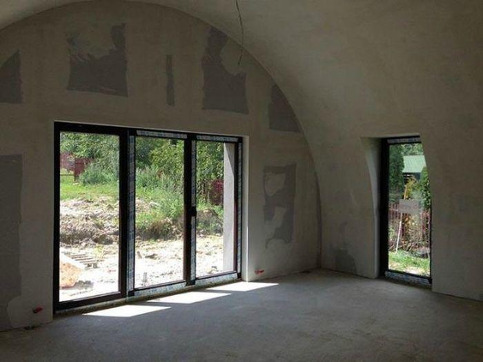 Как строят пенопластовые дома в Польше (27 фото)