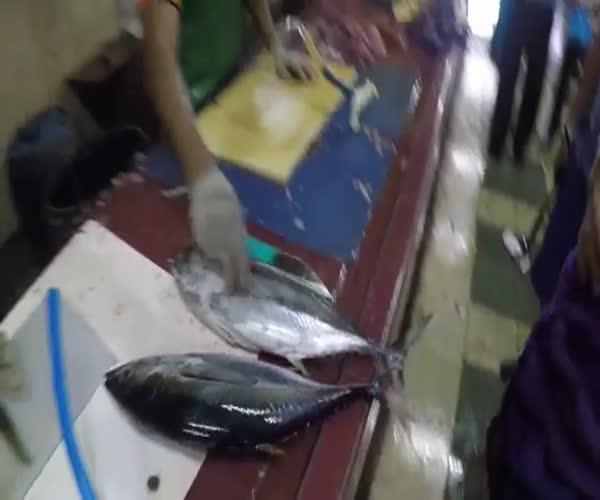 Мастер-класс по разделке тунца