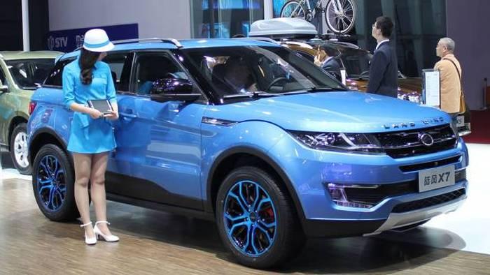 Китайские копии известных автомобилей (15 фото)