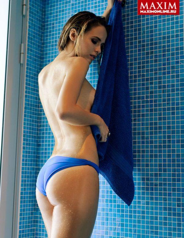 Актриса Любовь Аксенова в свежем номере мужского журнала Maxim (11 фото)