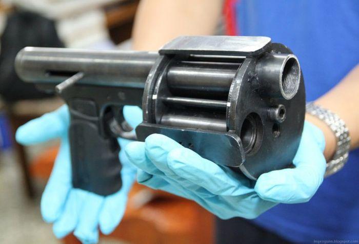 Самодельное огнестрельное оружие, изъятое в разных странах мира (40 фото)