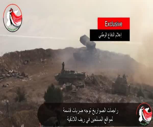 «Буратино» ведет обстрел позиций боевиков