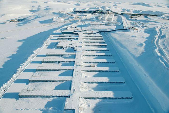 Чукотский рудник Купол - самый современный рудник России (21 фото)