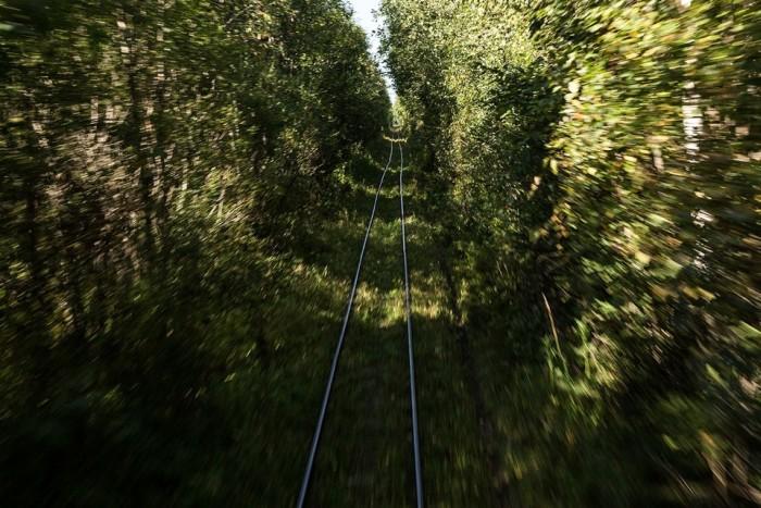 Узколейка, как основное средство связи с внешним миром (32 фото)