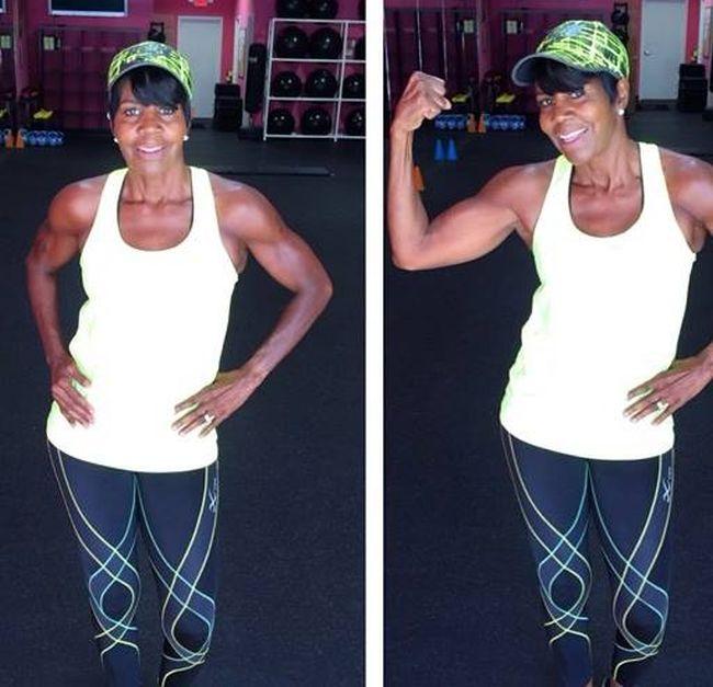 63-летняя американка Эллен Эктор - новая фитнес-звезда интернета (7 фото)
