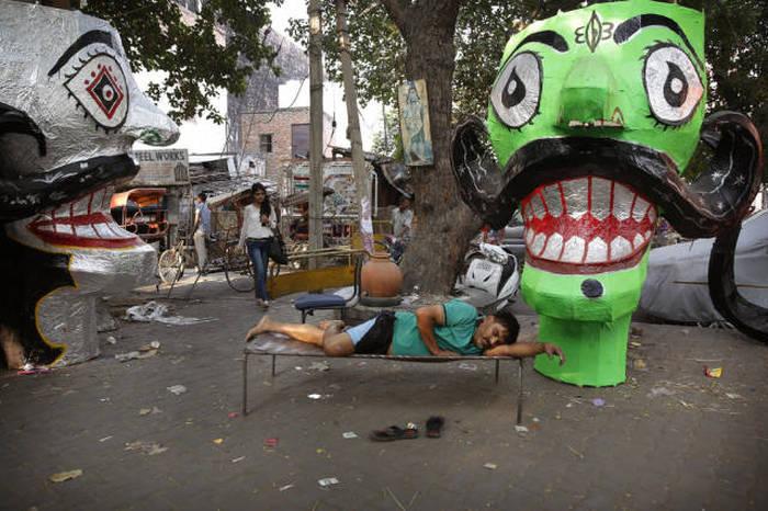 Повседневная жизнь индийцев на фото (41 фото)