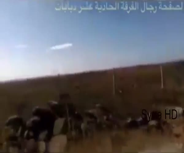 Российские вертолеты работают в Сирии