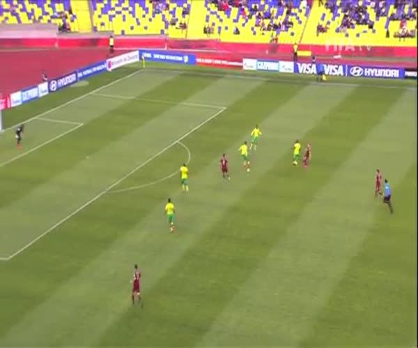 Молодежная сборная России по футболу одержала победу над командой ЮАР