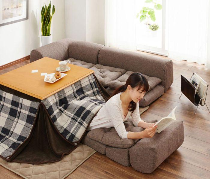 Японская стол-кровать котацу (8 фото)