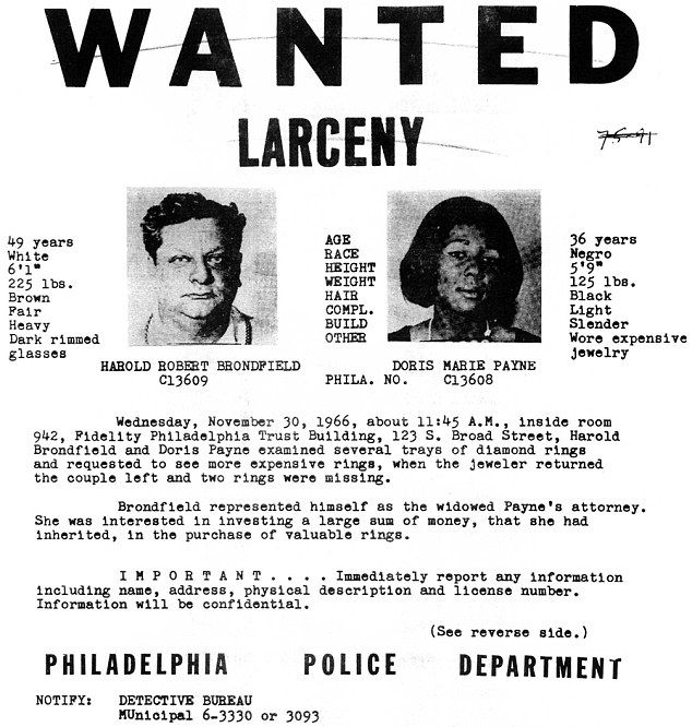 В США арестована известная воровка ювелирных изделий Дорис Пейн (5 фото)