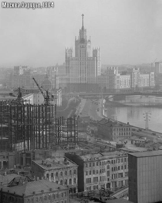 Невоплощенные проекты Москвы (40 фото)