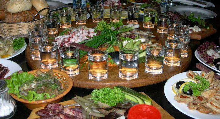 Русские закуски фото