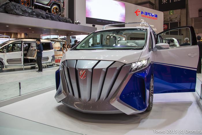 Уникальные концепты Toyota Auto Body на автосалоне в Токио (24 фото)