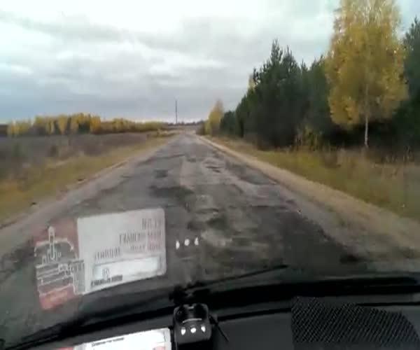 Разница между дорогами в России и Белоруссии